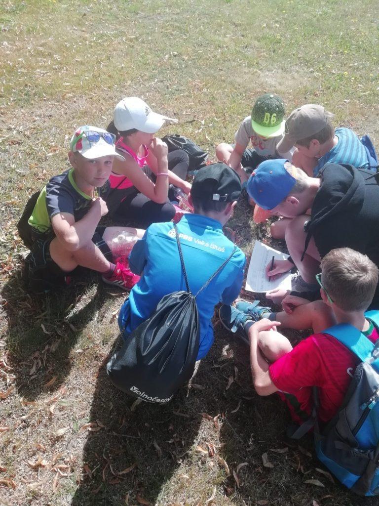 Spolupráce na táboře