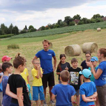 Vysvětlování hry na táboru