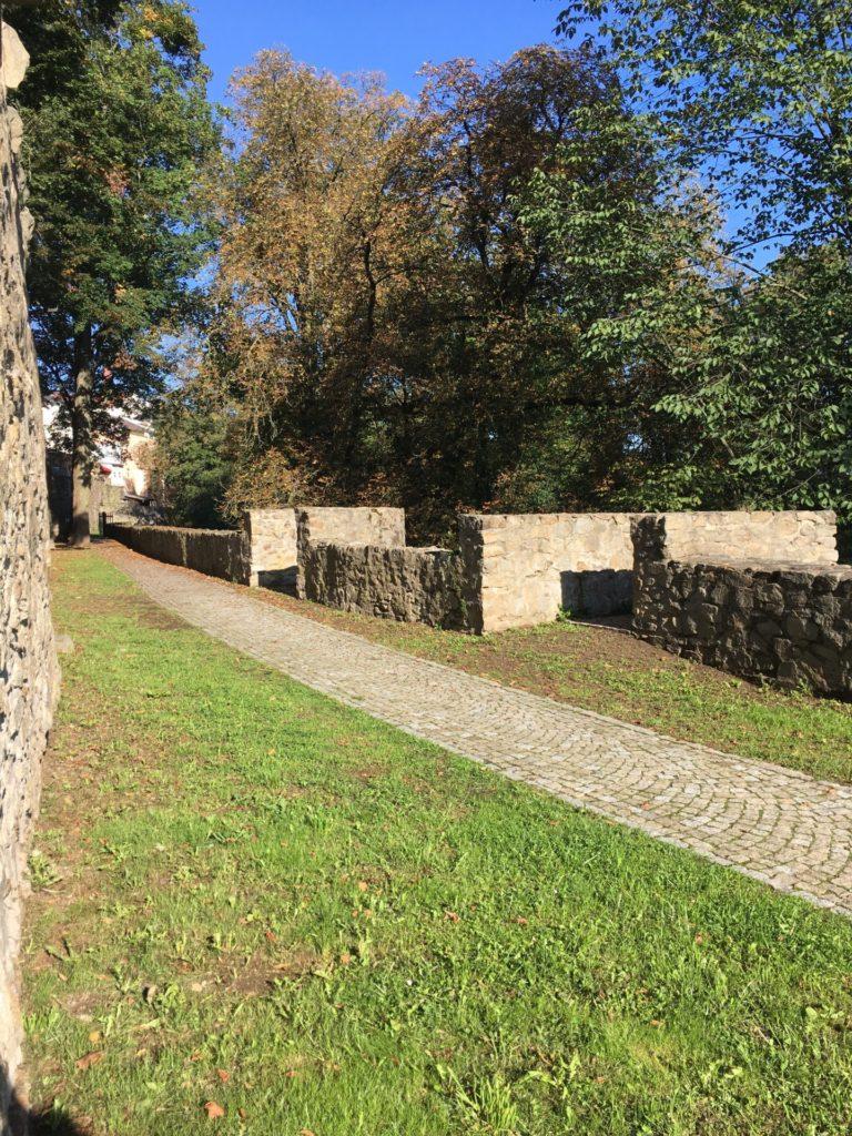 Městské hradby u sv. Jakuba - Jihlava