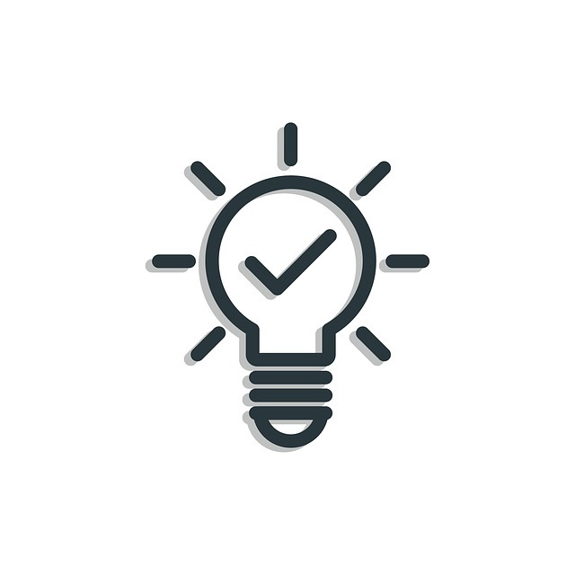 Rozsvícená žárovka jako znak dobrého nápadu